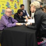 Henry Jenkins at the book signing
